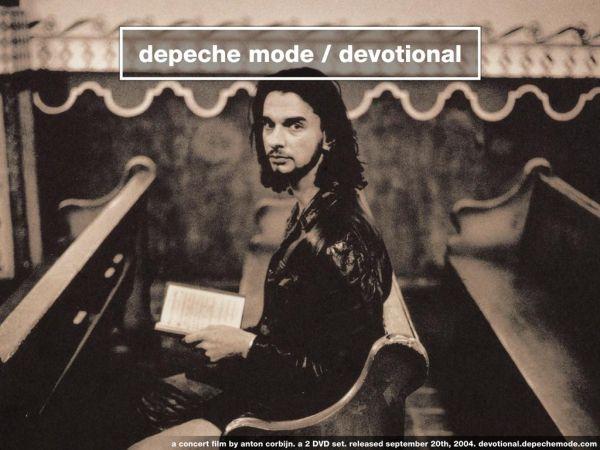 Depeche Mode - Devotional; DVD-julkaisun promojuliste