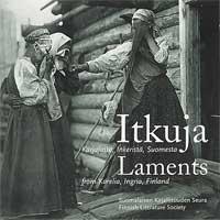 Itkuja Inkeristä, Karjalasta, Suomesta; levynkansi
