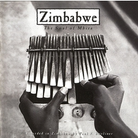 Zimbabwe: The Soul of Mbira; levynkansi