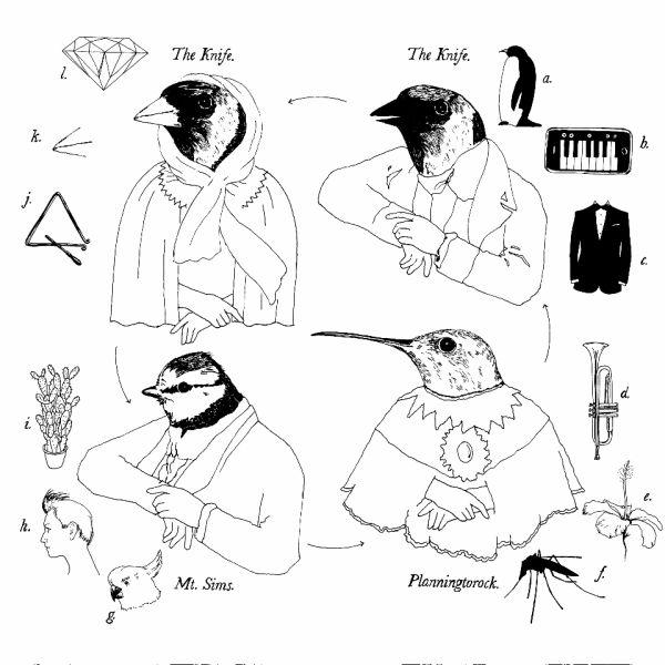 Colouring of Pigeons; singlen kansikuva