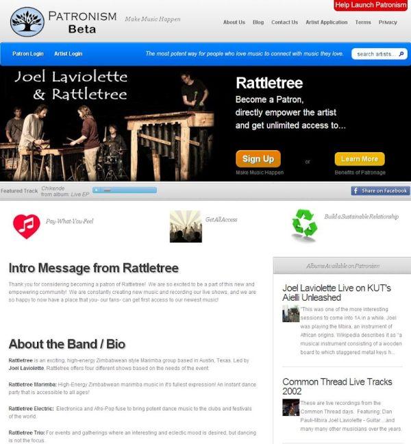 Patronism Beta