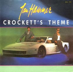Jan Hammer - Crockett's Theme; singlen kansikuva