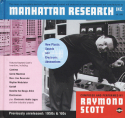Raymond Scott - Manhattan Research Inc.; levynkansi