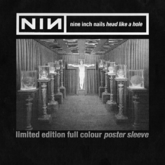 Nine Inch Nails - Head Like a Hole; singlen kansi