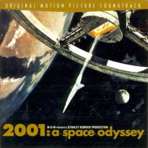 2001: A Space Odyssey Soundtrack; levynkansi
