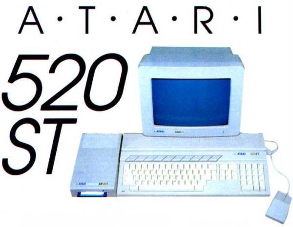 Atari 520ST, mainos