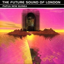 Future Sound of London: Papua New Guinea - vuoden 1996 painoksen hologrammikansi