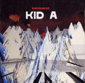 Radiohead - Kid A; levynkansi