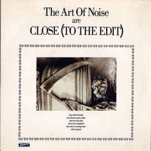 The Art of Noise are Close (To the Edit); singlen kansikuva