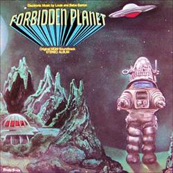 Forbidden Planet soundtrack; alkuperäispainoksen kansikuva