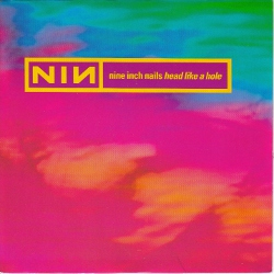 Nine Inch Nails - Head Like a Hole; CD-singlen kansi