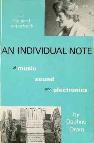 Daphne Oram - An Individual Note; kirjan kansi