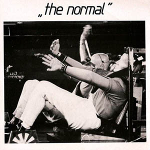 The Normal - Warm Leatherette; singlen kansikuva