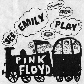 Pink Floyd - See Emily Play; singlen kansikuva