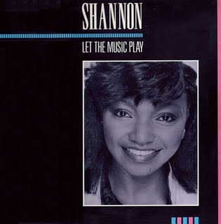 Shannon - Let the Music Play (1983); singlen kansikuva