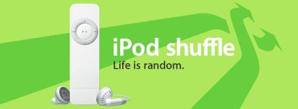 iPod shuffle: Life is random; Applen mainospropagandaa