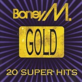 Boney M. - Gold - 20 Super Hits; levynkansi
