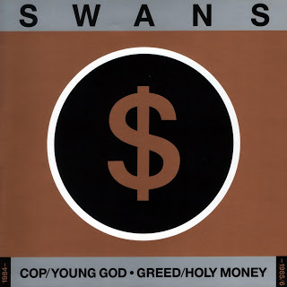 Swans - Cop / Young God / Greed / Holy Money; kokoelman kansikuva
