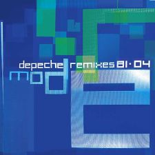 Depeche Mode - Remixes 81-04; levynkansi