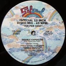"Double Exposure - Ten Percent -12""-singlen keskiö"
