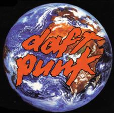Daft Punk - Around the World; singlen kansikuva