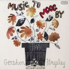 Gershon Kingsley - Music to Moog By; levynkansi