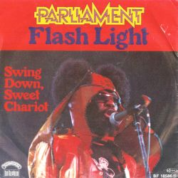 Parliament - Flash Light; singlen kansikuva