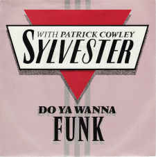 Sylvester with Patrick cowley - Do Ya Wanna Funk; singlen kansikuva