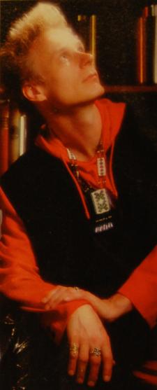Ismo Alanko vuonna 1993 (Kuva: Marco Melander & Kimmo Virtanen)