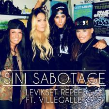 Sini Sabotage ft. VilleGalle - Levikset repee; singlen kansikuva