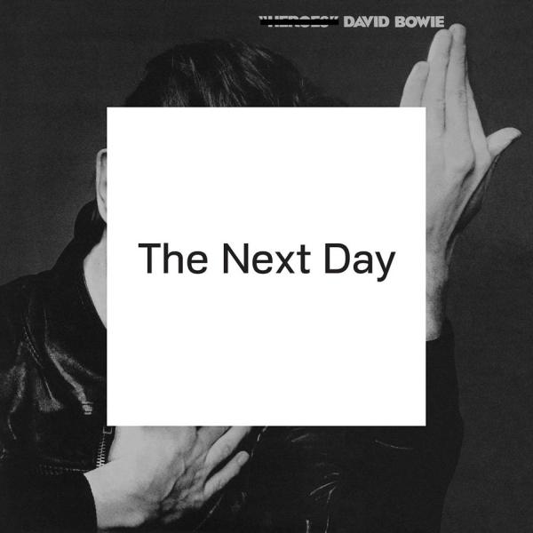 David Bowie - The Next Day; levynkansi