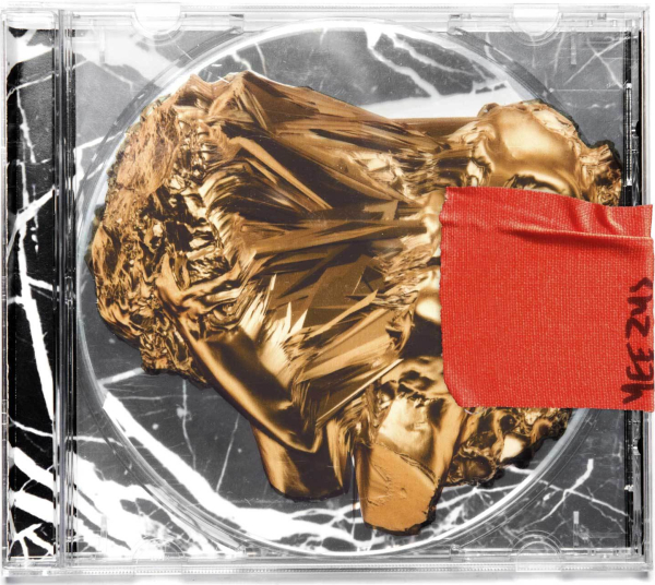 Kanye West - Yeezus; kansikuva sellaisena kuin sen vielä ensimmäisen julkistuksen yhteydessä piti näyttää