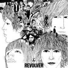 The Beatles - Revolver (1966); levynkansi