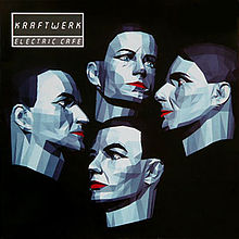 Kraftwerk - Electric Cafe; levynkansi