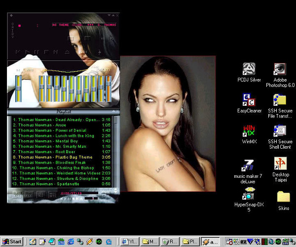 Kuvankaappaus työpyödältäni n. 10 vuotta sitten