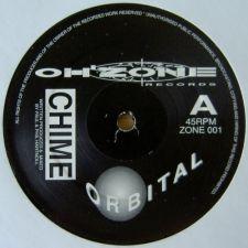 """Chime; ensimmäisen 12""""-painoksen etiketti"""