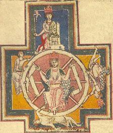 Carmina Burana -käsikirjoituskokoelman kansikuva (kuvaa on muokattu)