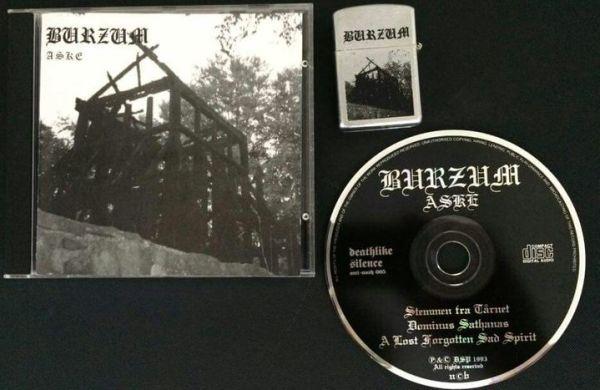Burzum - Aske; levy ja oheissytytin
