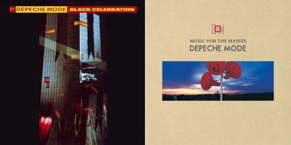 Black Celebration (1986) & Music for the Masses (1987)