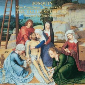 Josquin: Missa Pange lingua; levynkansi