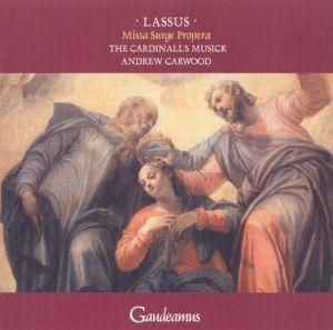 Lassus: Missa Surge propera; levynkansi