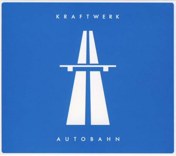 Kraftwerk: Autobahn; 2009 vuoden uusintajulkaisun kansikuva