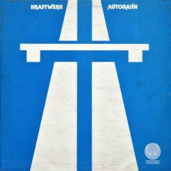 Kraftwerk: Autobahn; alkuperäisen UK-painoksen kansi