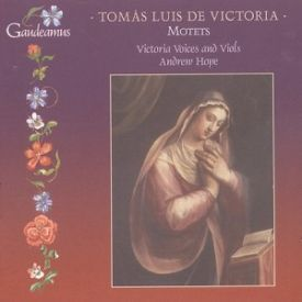 Victoria Voices & Viols, Andrew Hope: Motets; leyvyn kansikuva