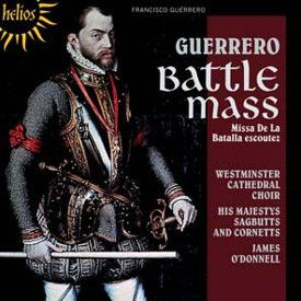 Francisco Guerrero: Battle Mass (kansikuva)