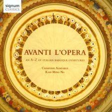 Charivari Agréable - Avanti L'opera: An A-Z of Italian Baroque (kansikuva)
