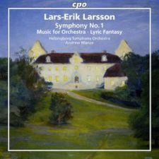 Lars-Erik Larsson: Orchestral Works Vol. 1 (levynkansi)