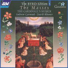 William Byrd Edition 5: The Masses (levynkansi)