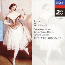 Adolphe Adam: Giselle (Royal Opera House Orchestra & Bonynge); levynkansi