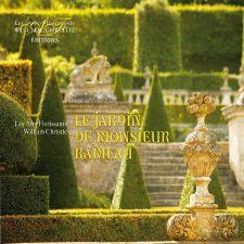 Les Arts Florissants: Le jardin de Monsieur Rameau; levynkansi